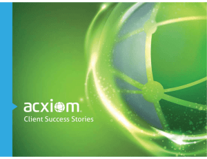 Acxiom PowerPoint Template (External Version)