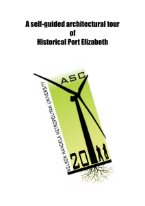 A self-guided architectural tour of Historical Port Elizabeth