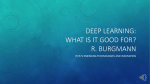 Deep Learning - CSU Thinkspace