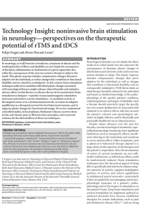 Technology Insight: noninvasive brain stimulation in neurology