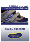 sensorimotor kid footwear: structure and functions outsole