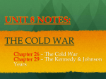 Section 4: The Continuing Cold War