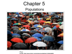 05 Populations and Demography