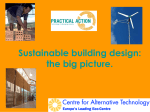 Big Picture Power Point - Sustainable Design Award
