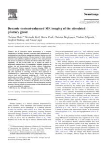Dynamic contrast-enhanced MR imaging of the