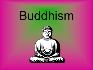 Buddhism - gst boces