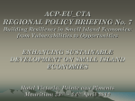 PPT Presentation - Regional Policy Briefings