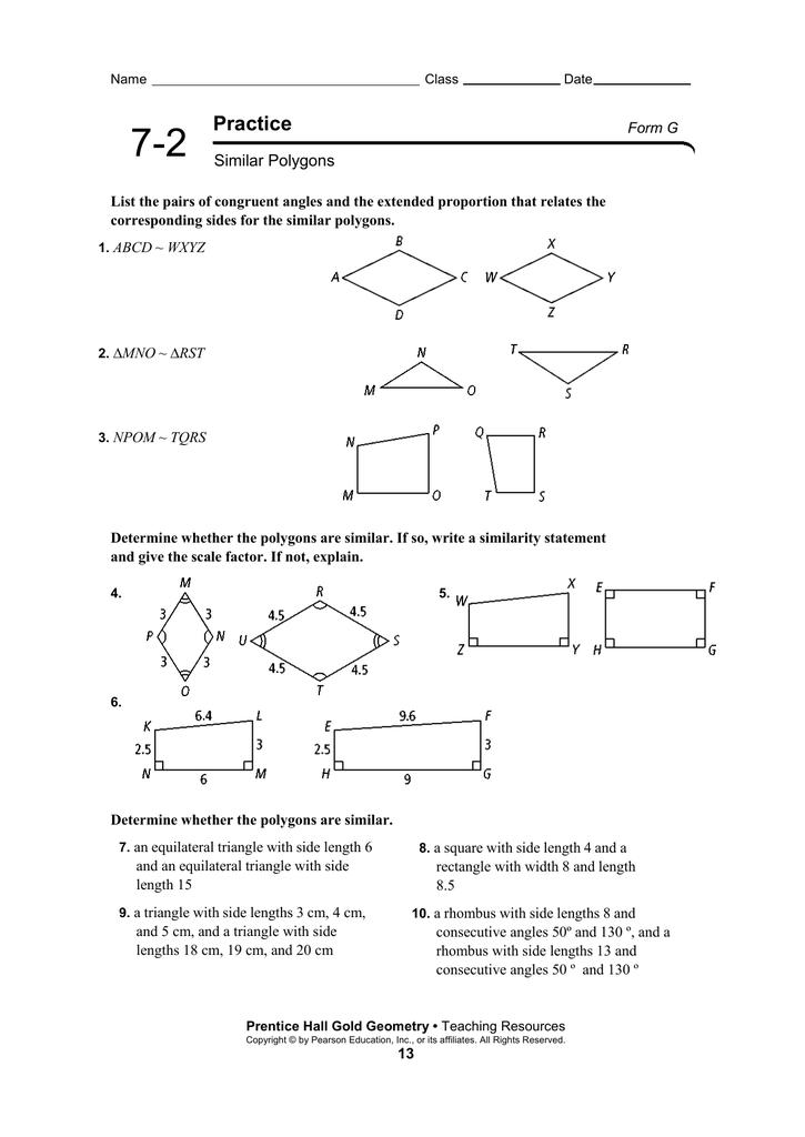 ラブリー 7 2 Practice Similar Polygons Worksheet Answers - じゃバルが目