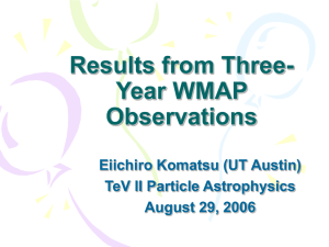 Three-year WMAP Observations: Method and Results