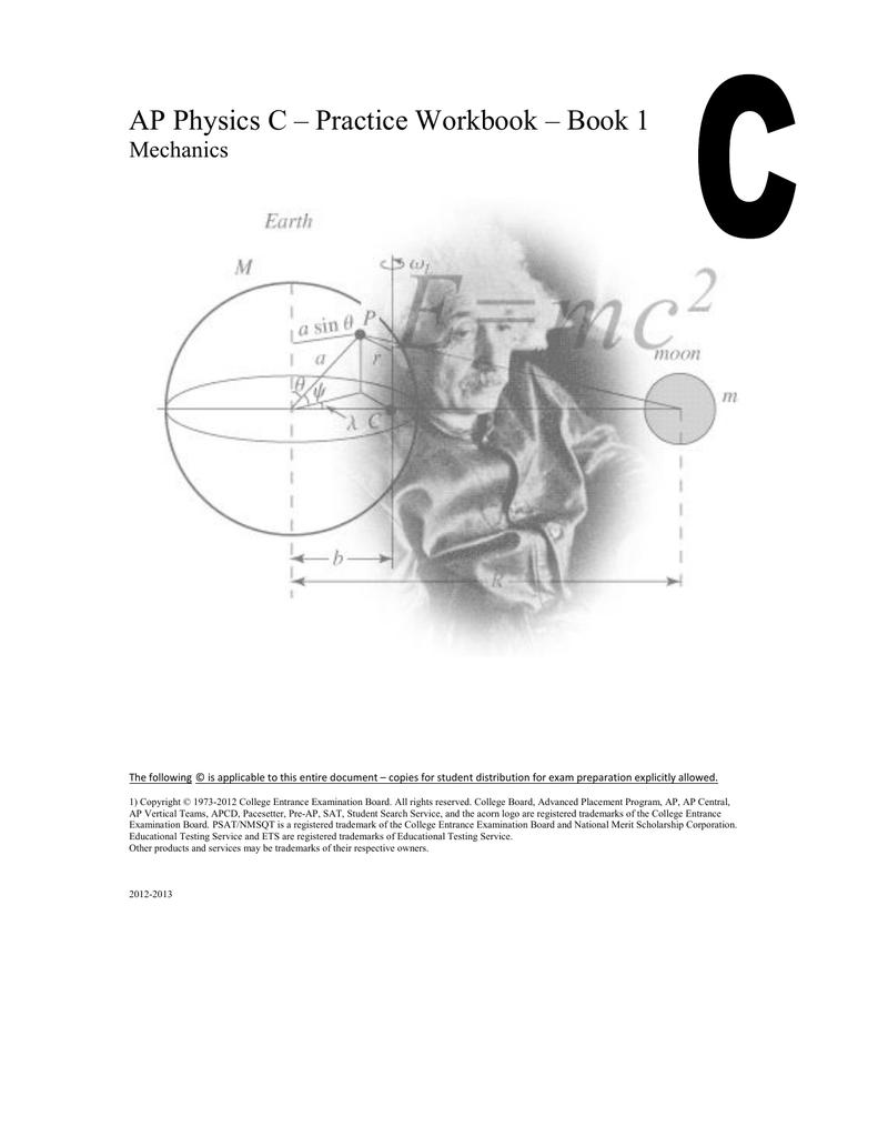 ap physics c practice workbook