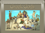 Greek Gods - World of Teaching