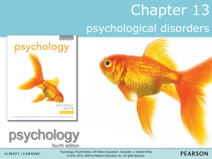 Psych Disorders new edition powerpoint