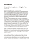 Marketing`s Evolving Identity: Defining Our Future