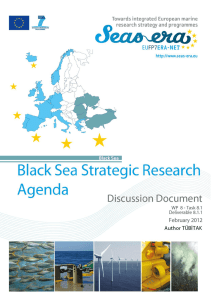 Strategic Research Agenda for the Black Sea Basin - SEAS-ERA