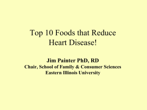 Soy and Heart Disease