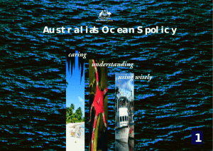 Australia`s OceanS policy - Secretariat of the Pacific Community