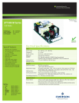 LPT100-M Series Electrical Specifications