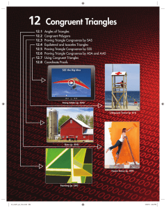 12 Congruent Triangles
