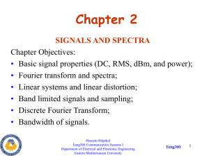 Lecture Notes - Signals and Spectra File