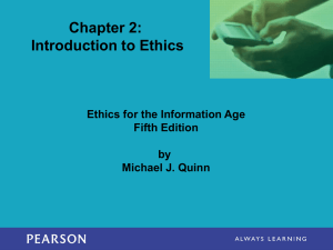 Intro to Ethics