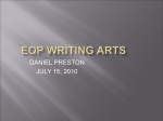 EOP WRITING ARTS