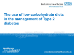 Carbohydrates and Type 2 diabetes