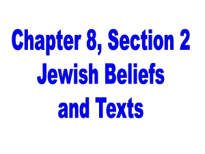 A central element of Judaism is education and study. Teaching