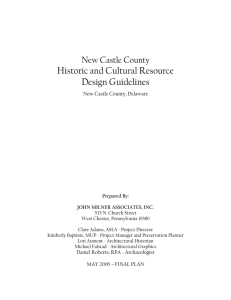 Historic and Cultural Resource Design Guidelines