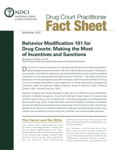 Making the Most of Incentives and Sanctions