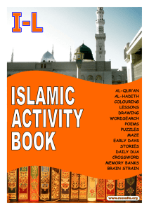 Islamic Activity Book 2