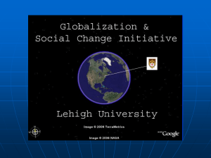 Globalization and Social Change Initiative