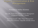 project communicatio..