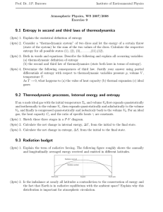 9. Entropy 2nd and 3rd laws/ Thermodynamic processes / Droplet