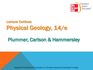 Powerpoint Presentation Physical Geology, 10/e