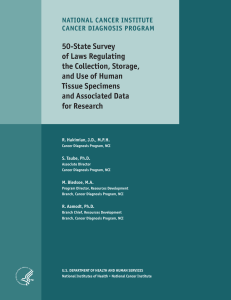 50-State Survey of Laws Regulating the