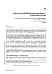 Advances in RFID Components Design: Integrated Circuits
