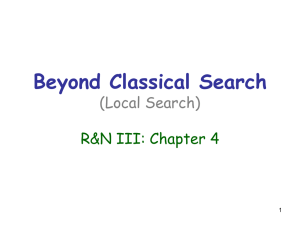 Beyond Classical Search