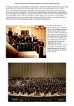 Carnegie Hall, New York - Guernsey Choral and Orchestral Society