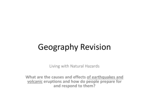 Geography Revision - Christ the King College