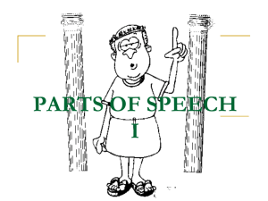 parts of speech - 220112012salinaunisel