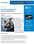 Is It Time to Reset Your Shopper Marketing?