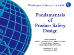 Fundamentals of Product Safety Design