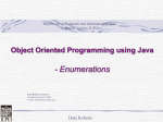 Java Object-Oriented Programming - Computer Science