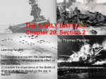 20.2 THE EARLY BATTLES