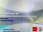 E-ALFA Data Archive and Access