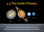 4.5 The Outer Planets - Germantown School District