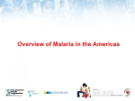 Overview of Malaria in the Americas