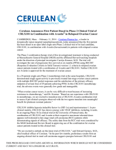 Cerulean: Leadership in Nanoparticle