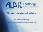 Three theories of ethics