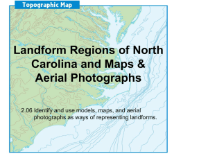 Landform Regions of North Carolina and Maps